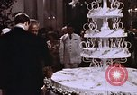 Image of Tricia's wedding cake Washington DC USA, 1971, second 7 stock footage video 65675057003