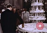 Image of Tricia's wedding cake Washington DC USA, 1971, second 8 stock footage video 65675057003