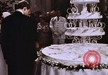 Image of Tricia's wedding cake Washington DC USA, 1971, second 10 stock footage video 65675057003