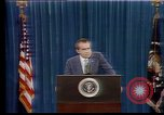 Image of President Richard Nixon speaks about U.S. energy independence Orlando Florida USA, 1973, second 4 stock footage video 65675057021