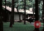 Image of Camp David Camp David Maryland USA, 1973, second 1 stock footage video 65675057029