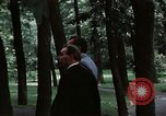 Image of Soviet leader Leonid Brezhnev Camp David Maryland USA, 1973, second 3 stock footage video 65675057031