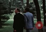 Image of Soviet leader Leonid Brezhnev Camp David Maryland USA, 1973, second 5 stock footage video 65675057031