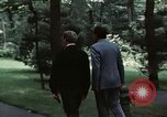 Image of Soviet leader Leonid Brezhnev Camp David Maryland USA, 1973, second 6 stock footage video 65675057031