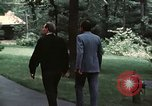 Image of Soviet leader Leonid Brezhnev Camp David Maryland USA, 1973, second 7 stock footage video 65675057031