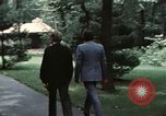 Image of Soviet leader Leonid Brezhnev Camp David Maryland USA, 1973, second 8 stock footage video 65675057031