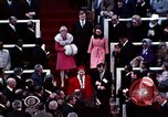 Image of ceremony on Inauguration Day Washington DC USA, 1973, second 2 stock footage video 65675057038