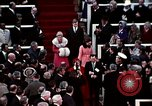 Image of ceremony on Inauguration Day Washington DC USA, 1973, second 5 stock footage video 65675057038