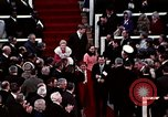 Image of ceremony on Inauguration Day Washington DC USA, 1973, second 7 stock footage video 65675057038