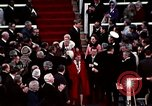 Image of ceremony on Inauguration Day Washington DC USA, 1973, second 9 stock footage video 65675057038
