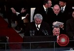 Image of ceremony on Inauguration Day Washington DC USA, 1973, second 4 stock footage video 65675057039
