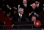 Image of ceremony on Inauguration Day Washington DC USA, 1973, second 5 stock footage video 65675057039