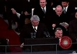 Image of ceremony on Inauguration Day Washington DC USA, 1973, second 6 stock footage video 65675057039