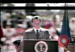 Image of President Richard Nixon Colorado Springs Colorado USA, 1969, second 4 stock footage video 65675057050