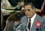 Image of Senate Watergate hearings Washington DC USA, 1974, second 1 stock footage video 65675057078