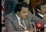 Image of Senate Watergate hearings Washington DC USA, 1974, second 2 stock footage video 65675057078