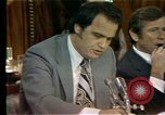 Image of Senate Watergate hearings Washington DC USA, 1974, second 4 stock footage video 65675057078