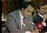 Image of Senate Watergate hearings Washington DC USA, 1974, second 5 stock footage video 65675057078