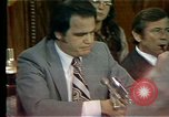 Image of Senate Watergate hearings Washington DC USA, 1974, second 6 stock footage video 65675057078