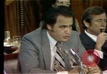 Image of Senate Watergate hearings Washington DC USA, 1974, second 7 stock footage video 65675057078