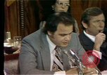 Image of Senate Watergate hearings Washington DC USA, 1974, second 8 stock footage video 65675057078
