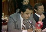 Image of Senate Watergate hearings Washington DC USA, 1974, second 10 stock footage video 65675057078