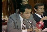 Image of Senate Watergate hearings Washington DC USA, 1974, second 11 stock footage video 65675057078