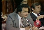 Image of Senate Watergate hearings Washington DC USA, 1974, second 12 stock footage video 65675057078
