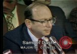 Image of Senate hearings Washington DC USA, 1974, second 8 stock footage video 65675057079