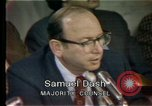 Image of Senate hearings Washington DC USA, 1974, second 9 stock footage video 65675057079