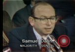 Image of Senate hearings Washington DC USA, 1974, second 10 stock footage video 65675057079