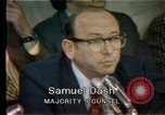 Image of Senate hearings Washington DC USA, 1974, second 11 stock footage video 65675057079
