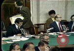 Image of Senate hearings Washington DC USA, 1974, second 1 stock footage video 65675057080