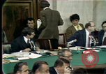Image of Senate hearings Washington DC USA, 1974, second 2 stock footage video 65675057080