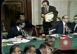 Image of Senate hearings Washington DC USA, 1974, second 3 stock footage video 65675057080