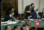 Image of Senate hearings Washington DC USA, 1974, second 4 stock footage video 65675057080