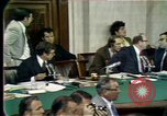 Image of Senate hearings Washington DC USA, 1974, second 5 stock footage video 65675057080