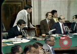 Image of Senate hearings Washington DC USA, 1974, second 6 stock footage video 65675057080