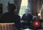 Image of Nixon talking to Kissinger in Oval Office Paris France, 1973, second 2 stock footage video 65675057083