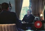 Image of Nixon talking to Kissinger in Oval Office Paris France, 1973, second 3 stock footage video 65675057083