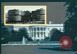 Image of Watergate scandal Washington DC USA, 1974, second 10 stock footage video 65675057091