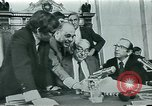 Image of Watergate scandal Washington DC USA, 1974, second 6 stock footage video 65675057095