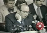 Image of Watergate scandal Washington DC USA, 1974, second 6 stock footage video 65675057099