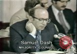 Image of Watergate scandal Washington DC USA, 1974, second 10 stock footage video 65675057099