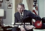 Image of President Richard Nixon Washington DC USA, 1972, second 2 stock footage video 65675057104
