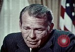 Image of President Richard Nixon Washington DC USA, 1972, second 10 stock footage video 65675057104