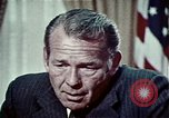 Image of President Richard Nixon Washington DC USA, 1972, second 11 stock footage video 65675057104