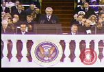 Image of Nixon inaugural Washington DC USA, 1973, second 6 stock footage video 65675057170