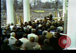 Image of Nixon takes oath Washington DC USA, 1973, second 8 stock footage video 65675057171