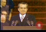 Image of President Richard Nixon Washington DC USA, 1973, second 3 stock footage video 65675057172